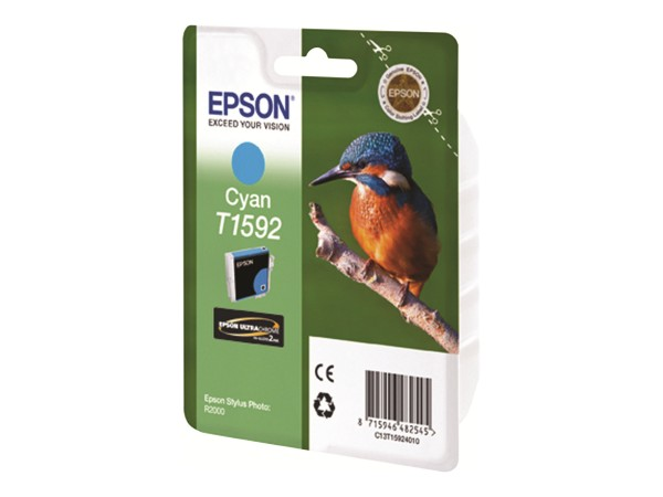 Epson T1592 - 17 ml - Cyan - Original - Blisterverpackung