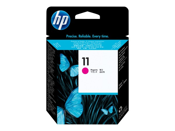 HP 11 - Dye-Based Magenta - Druckkopf - für Business Inkjet 1000, 1200, 2800