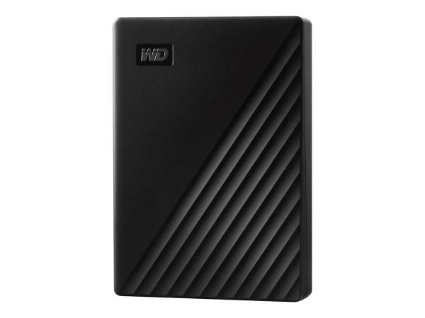 WD My Passport WDBPKJ0050BBK - Festplatte - verschlüsselt - 5 TB - extern (tragbar)