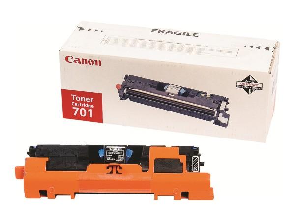 Canon 701 - Schwarz - Original - Tonerpatrone
