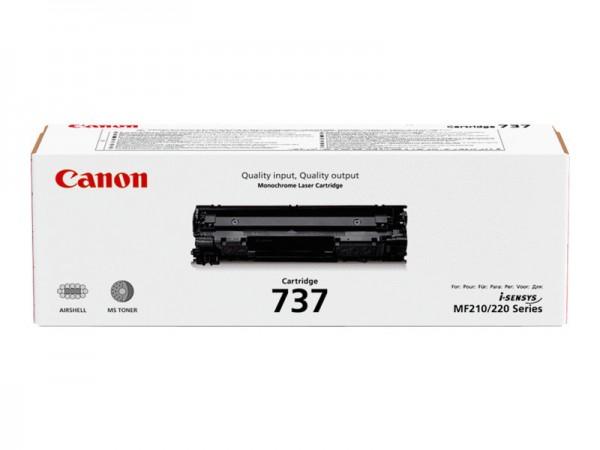 Canon 737 - Schwarz - Original - Tonerpatrone