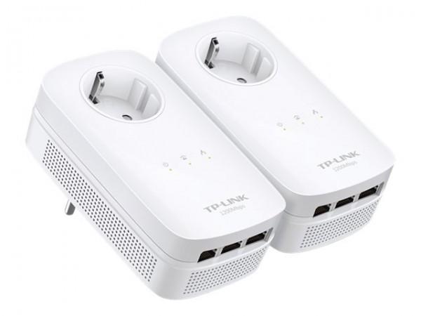 TP-LINK TL-PA8030P KIT - Starter Kit - Bridge - GigE, HomePlug AV (HPAV)