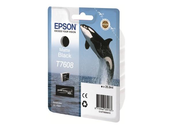 Epson T7608 - 26 ml - mattschwarz - Original