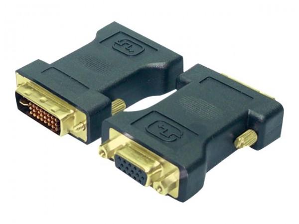 LogiLink VGA-Adapter - DVI-I (M) bis HD-15 (VGA)