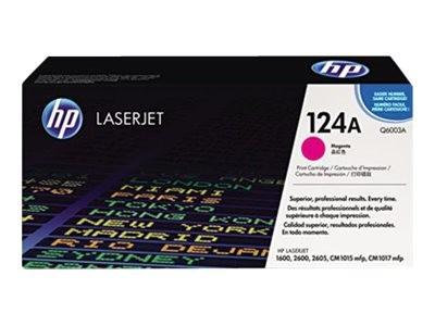 HP 124A - Magenta - Original - LaserJet - Tonerpatrone (Q6003A)