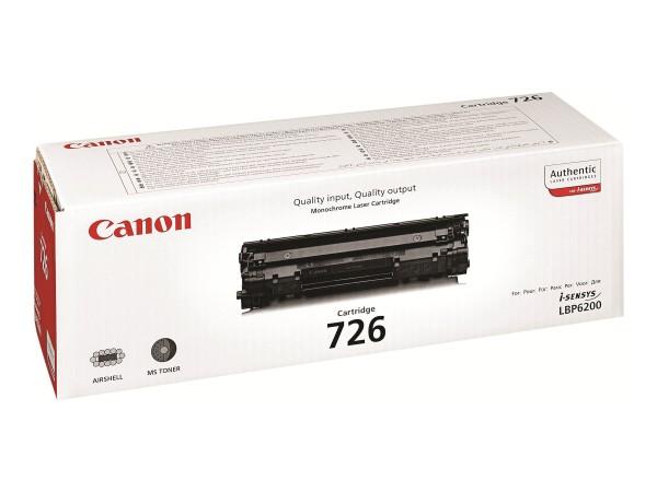 Canon CRG-726 - Schwarz - Original - Tonerpatrone