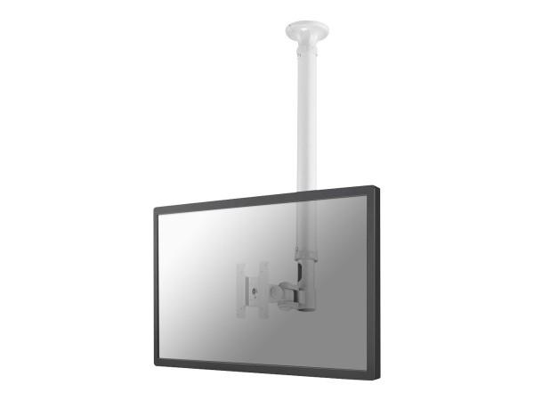 """NewStar FPMA-C100WHITE - Deckenhalterung für LCD-Display - weiß - Bildschirmgröße: 25.4-76.2 cm (10"""""""