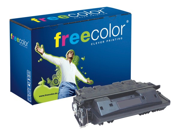 freecolor 500 g - Schwarz - Tonerpatrone (Alternative zu: HP 61X)
