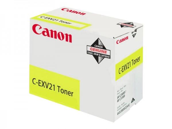 Canon C-EXV 21 - Gelb - Original - Tonerpatrone