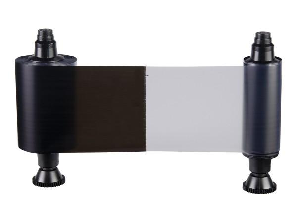 Evolis 2 Panel monochrome ribbon - Black + Overlay (KO)