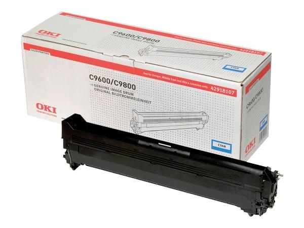 OKI Cyan - Trommel-Kit - für C9600dn, 9600hdtn