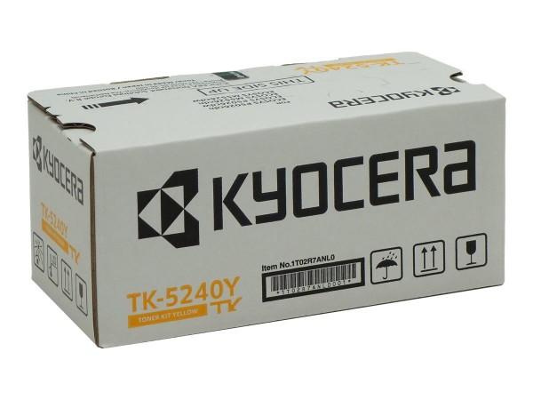 Kyocera TK 5240Y - Gelb - Original - Tonerpatrone