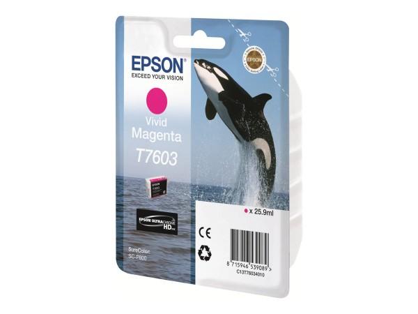 Epson T7603 - 26 ml - Vivid Magenta - Original