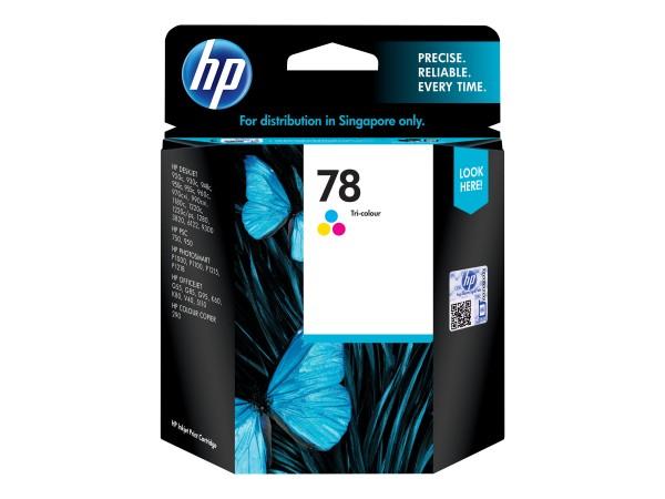 HP 78 - 19 ml - Farbe (Cyan, Magenta, Gelb) - Original