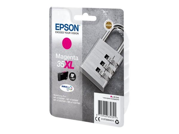 Epson 35XL - 20.3 ml - XL - Magenta - Original