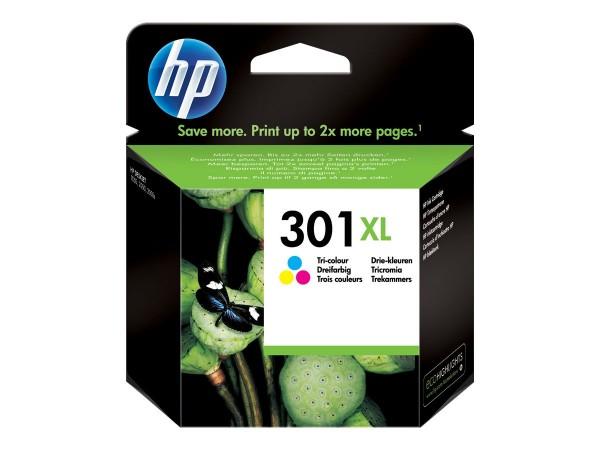 HP 301XL - Hohe Ergiebigkeit - farbstoffbasiert dreifarbig