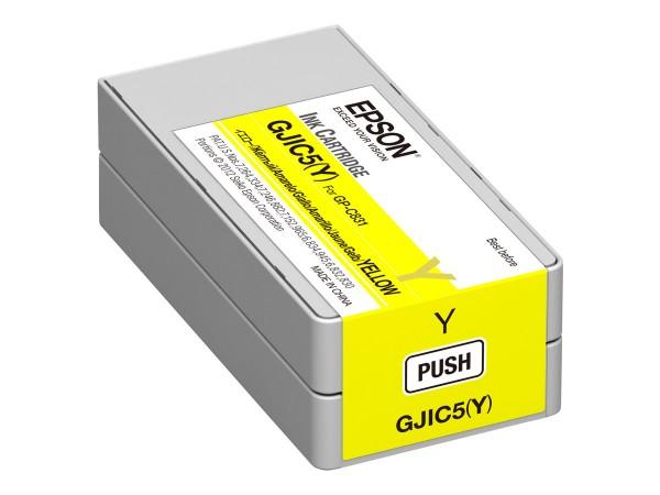 Epson GJIC5(Y) - Gelb - Original - Tintenpatrone