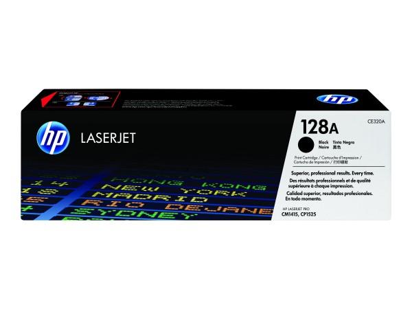 HP 128A - Schwarz - Original - LaserJet - Tonerpatrone (CE320A)