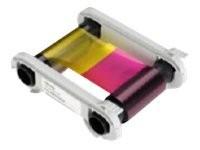 Evolis High Trust 1/2 YMCKO Color Ribbon - 1 - Farbe (Cyan, Magenta, Yellow, Resin-Black, klarer Übe