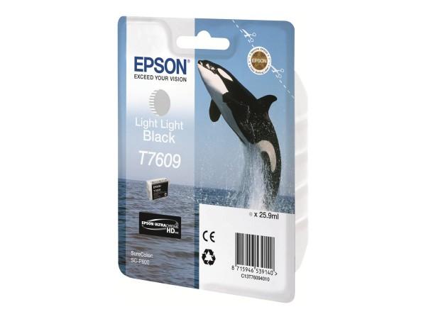 Epson T7609 - 26 ml - Light Light Black - Original