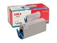 OKI Cyan - Original - Tonerpatrone - für C7200