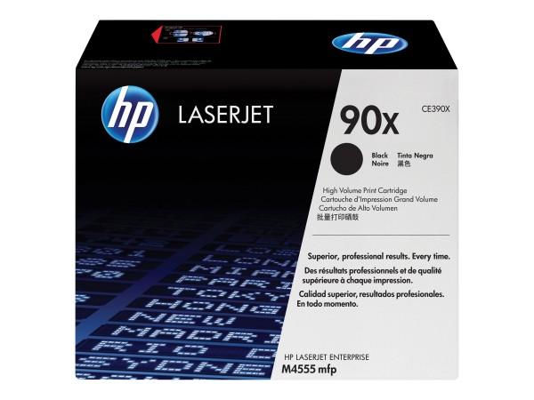 HP 90X - Hohe Ergiebigkeit - Schwarz - Original - LaserJet - Tonerpatrone (CE390X)