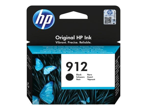 HP 912 - 8.29 ml - Schwarz - Original - Tintenpatrone