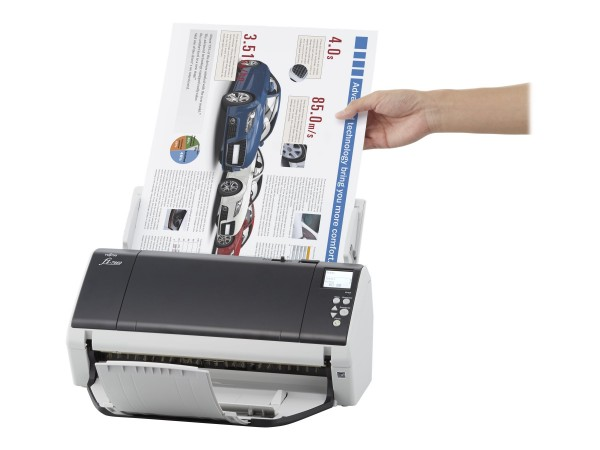 Fujitsu fi-7480 - Dokumentenscanner - Duplex - 304.8 x 431.8 mm - 600 dpi x 600 dpi - bis zu 80 Seit