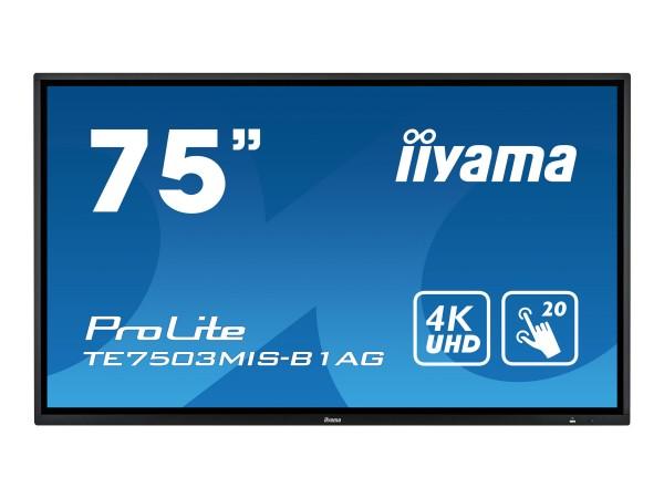 "Iiyama ProLite TE7503MIS-B1AG - 190.5 cm (75"")"