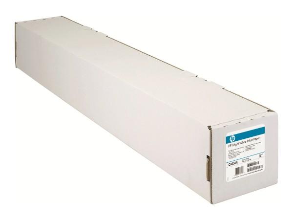 HP Bright White Inkjet Paper - Matt - hochweiß - Rolle (91,4 cm x 45,7 m)