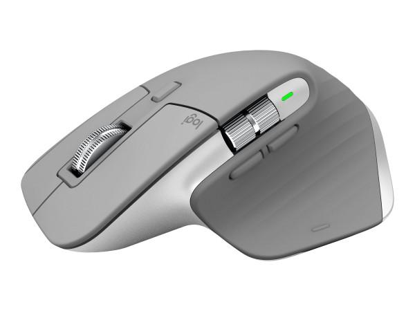 Logitech MX Master 3 - Maus - Laser - 7 Tasten - kabellos - Bluetooth, 2.4 GHz - kabelloser Empfänge