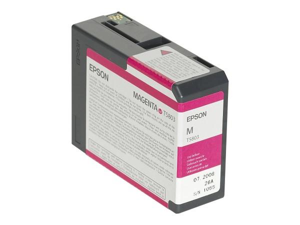 Epson T5803 - 80 ml - Magenta - Original - Tintenpatrone