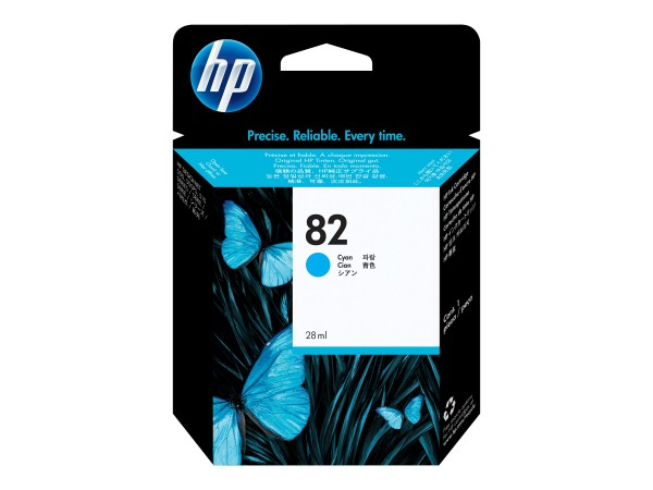HP 82 - 69 ml - Dye-Based Cyan - Original - DesignJet