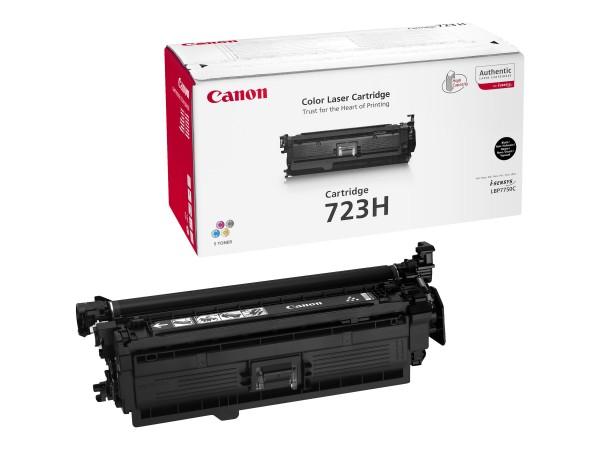 Canon 723H BK - Schwarz - Original - Tonerpatrone