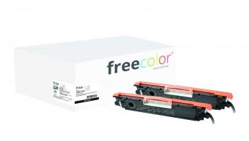 freecolor 1025K-2-FRC - 1200 Seiten - Schwarz - 2 Stück(e)