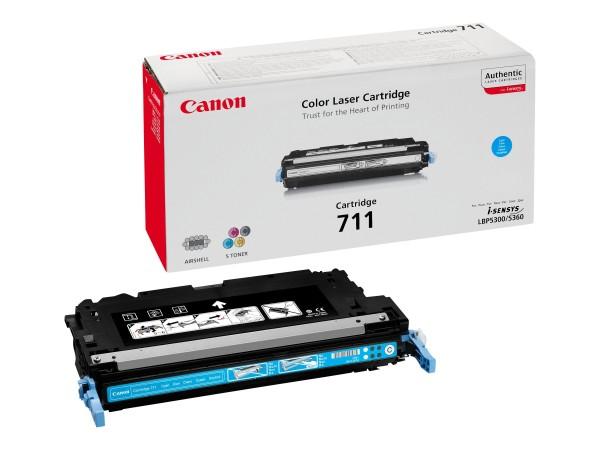 Canon 711 - Cyan - Original - Tonerpatrone - für imageRUNNER C1022
