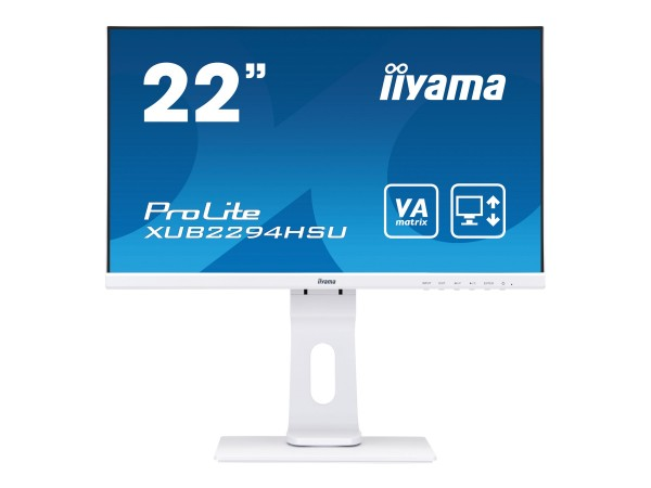 """Iiyama ProLite XUB2294HSU-W1 - LED-Monitor - 55.9 cm (22"""")"""