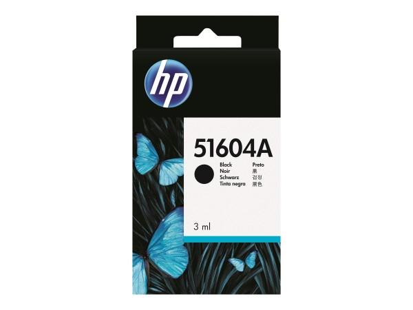 HP 3 ml - Schwarz - Original - Tintenpatrone