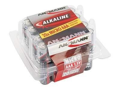 Ansmann Micro - Batterie 20 x AAA-Typ - Alkalisch