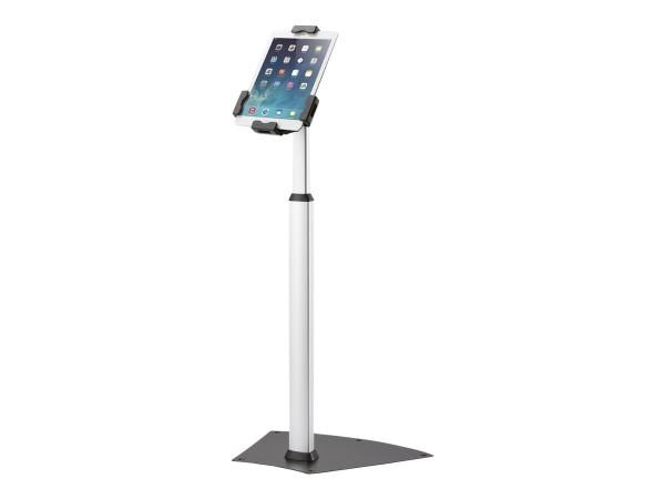 NewStar TABLET-S200SILVER - Aufstellung für Tablett - verriegelbar - Silber - Bildschirmgröße: 24.6-
