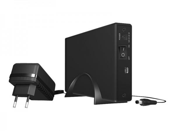 """ICY BOX ICY BOX IB-377-C31 - Speichergehäuse mit Datenanzeige, Netzanzeige - 3.5"""" (8.9 cm)"""