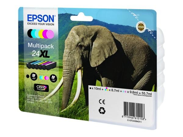Epson 24XL Multipack - 6er-Pack - 55.7 ml - XL