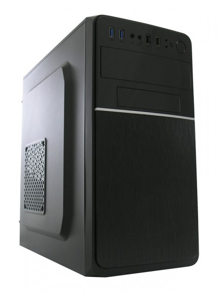 LC Power 2015MB - Midi ATX Tower - PC - Metall - Schwarz - ATX - Heimbüro