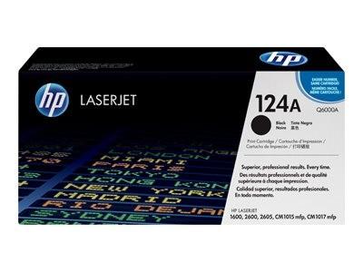 HP 124A - Schwarz - Original - LaserJet - Tonerpatrone (Q6000A)