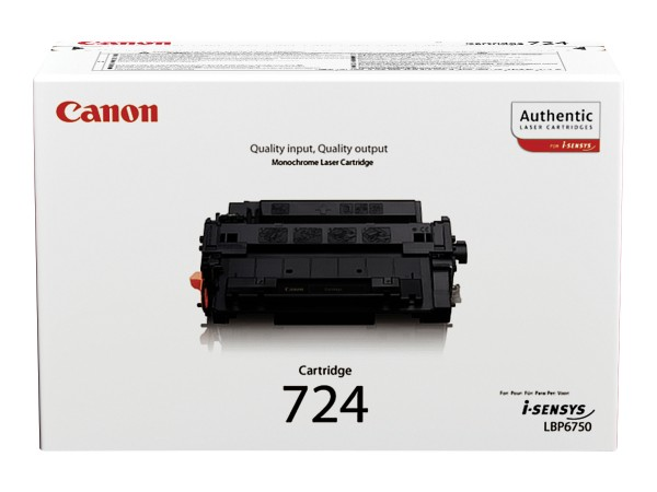 Canon CRG-724 - Schwarz - Original - Tonerpatrone