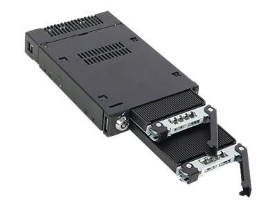 Icy Dock ToughArmor MB834M2K-B - Mobiles Speicher-Rack mit Kühlkörper