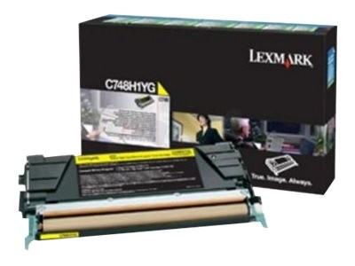 Lexmark Gelb - Original - Tonerpatrone Lexmark Corporate
