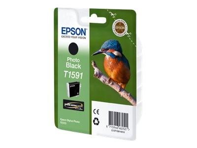 Epson T1591 - 17 ml - Photo schwarz - Original