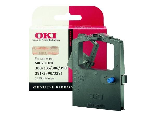 OKI 1 - Schwarz - Farbband - für Microline 3390