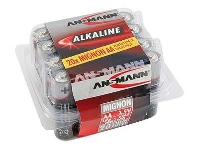 Ansmann Mignon - Batterie 20 x AA-Typ - Alkalisch